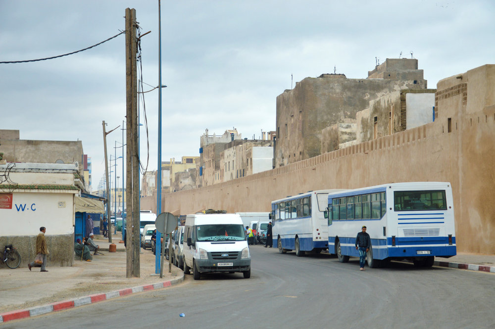 Essaouira behind the city walls