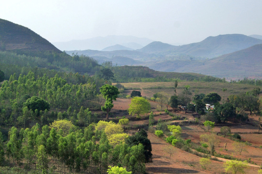 Hills of Araku Valley