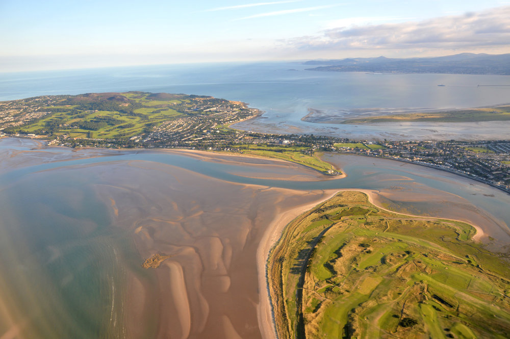 Another aerial view of Howth