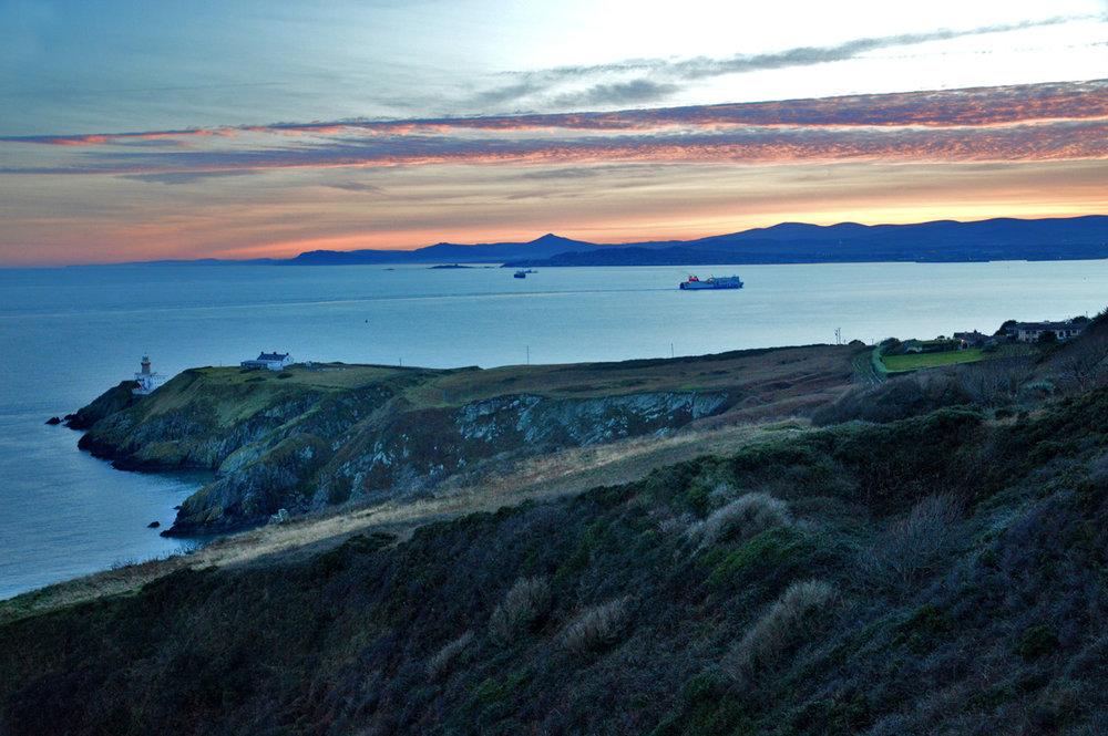 Sunset in Howth