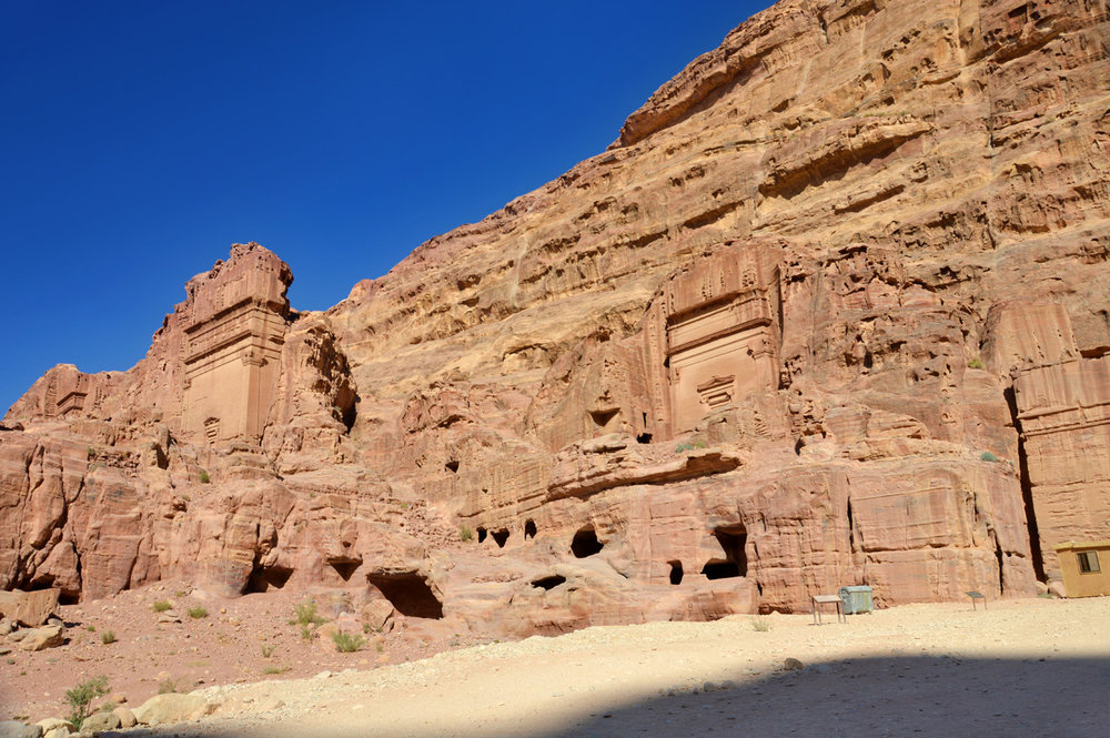 The ancient Nabataean center of Petra