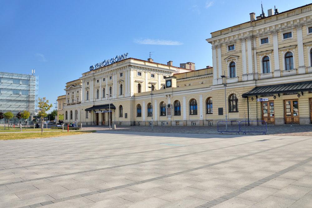 Krakow railway station