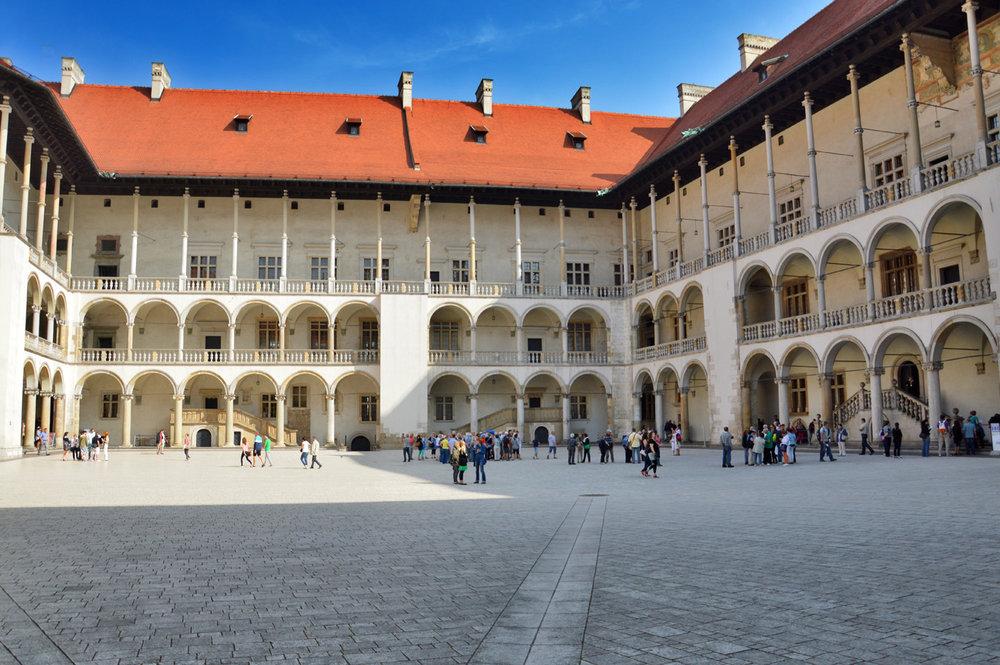 Wawel Courtyard