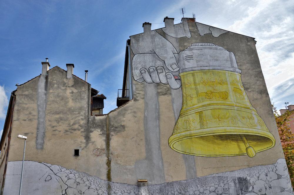 Graffiti in Kazimierz