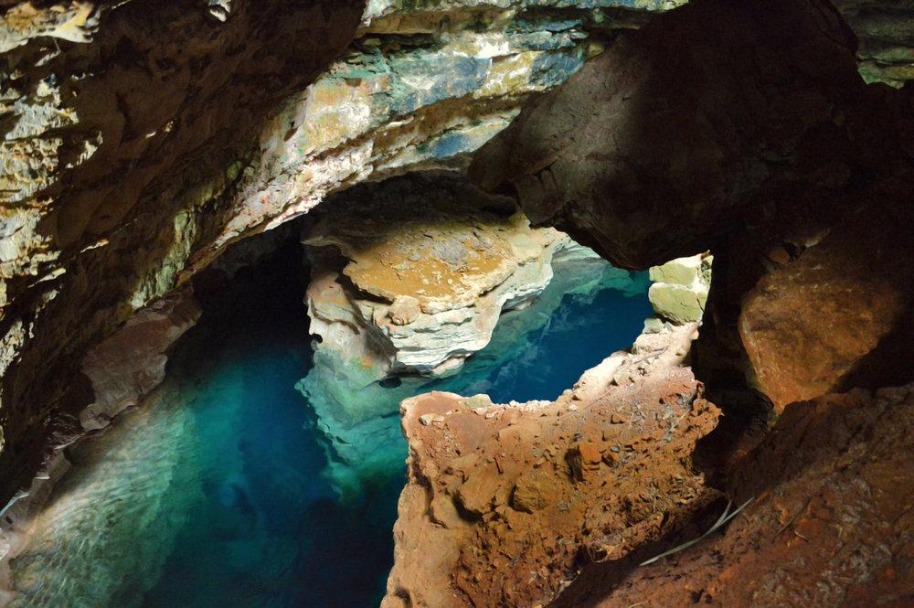 Blue Pool Cave