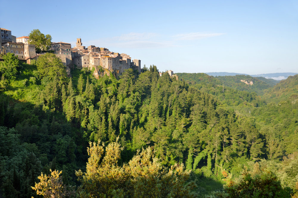 Pitigliano - the surroundings