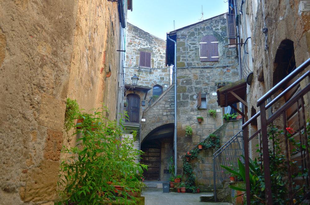 Houses in Pitigliano
