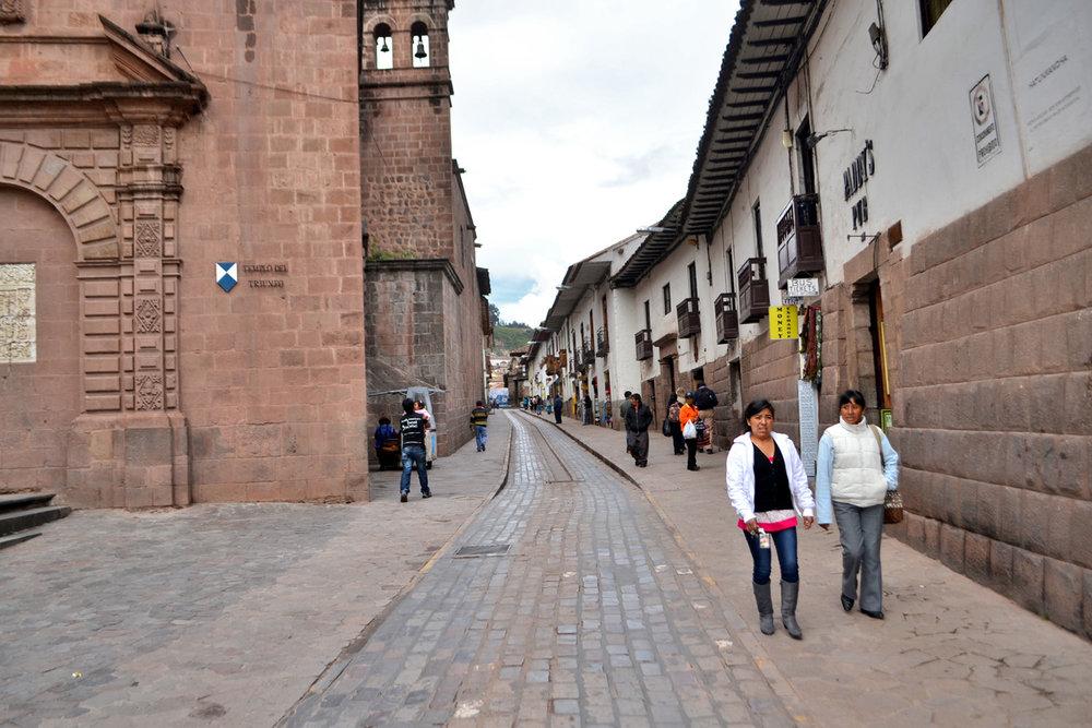 Street in Cuzco