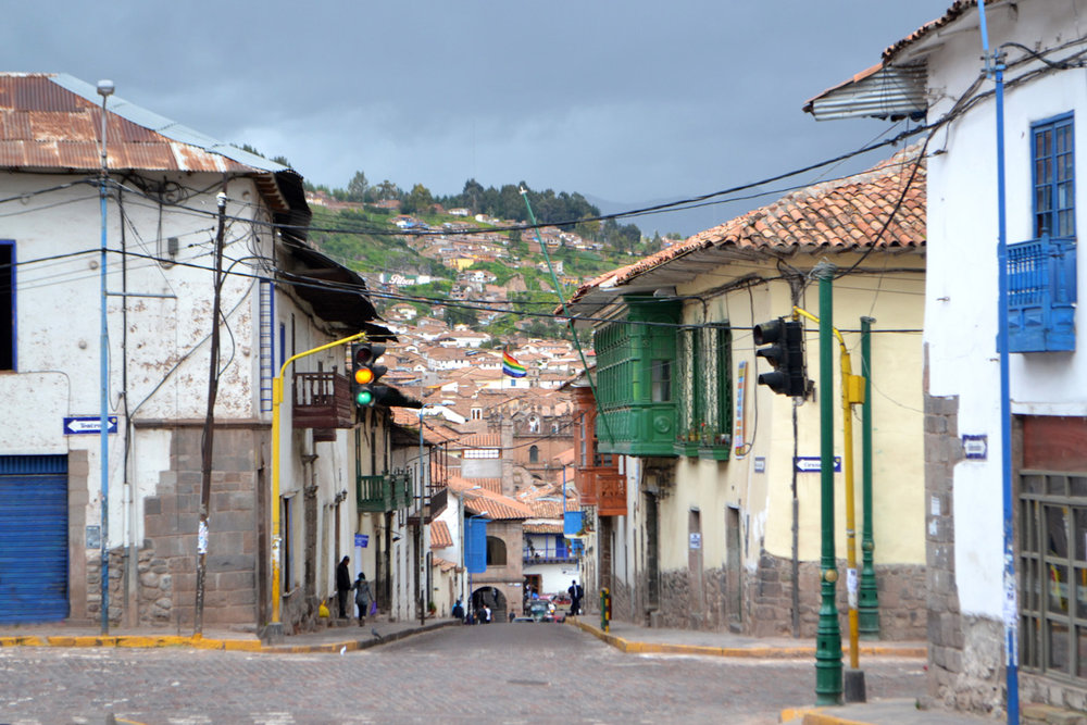 Local area in Cuzco