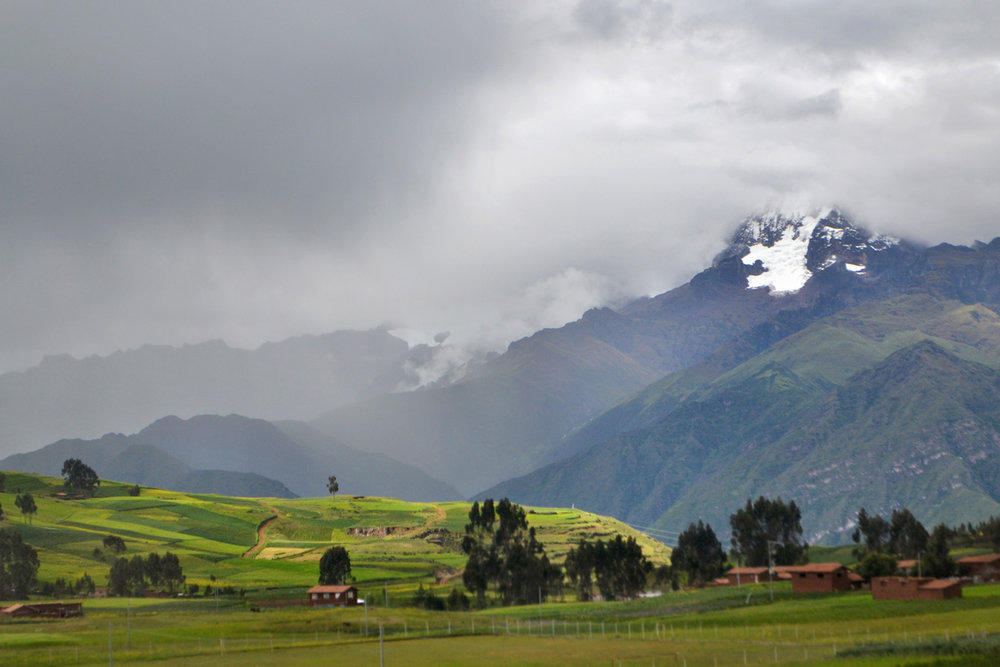 Landscapes around Cuzco