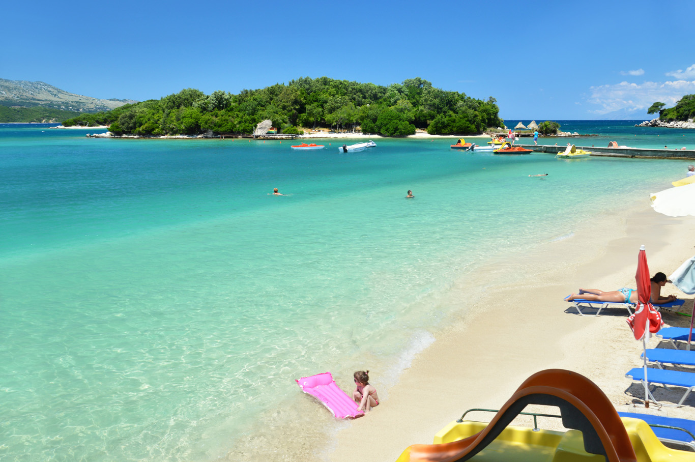 Image result for ksamil beach