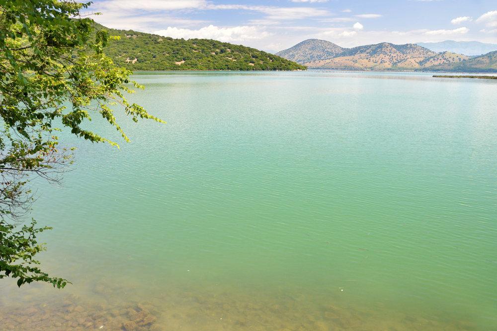 The lake surrounding Butrint