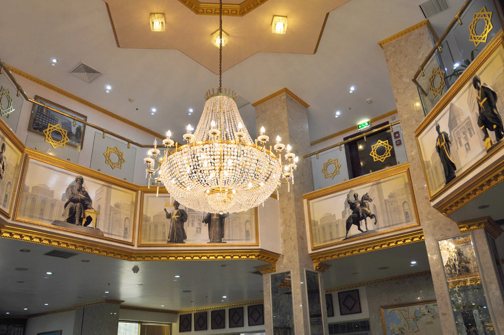 Interior of a hotel in Ashgabat