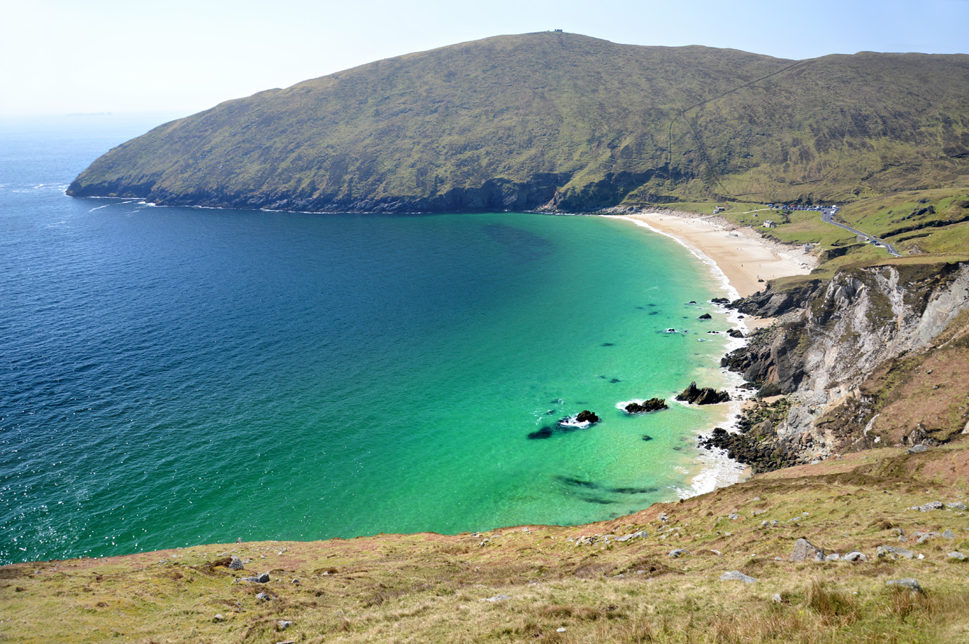 Map Of Ireland Beaches.Achill Island And Keem Bay The Most Beautiful And Least Known