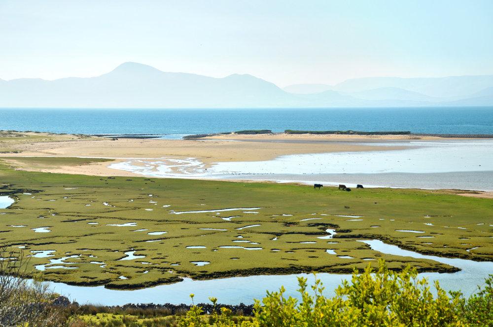 Beautiful coast on the way to Achill Island