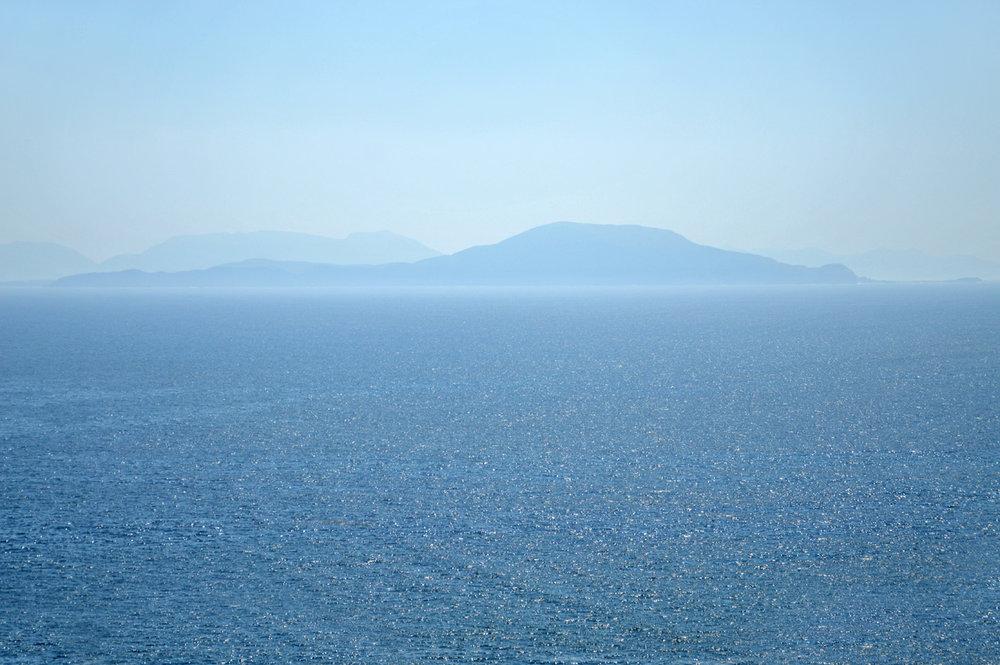 The view of Atlantic Ocean