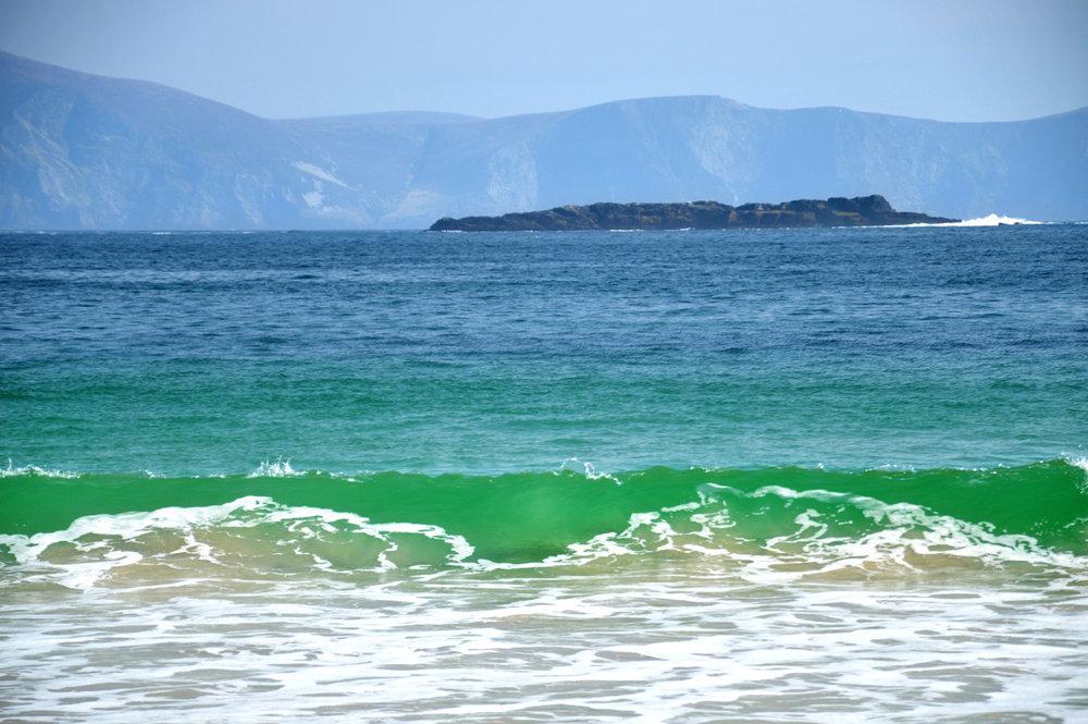 Green waters at Keem Bay
