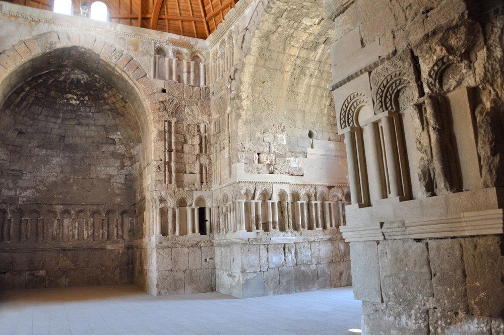 Ummayad Palace inside