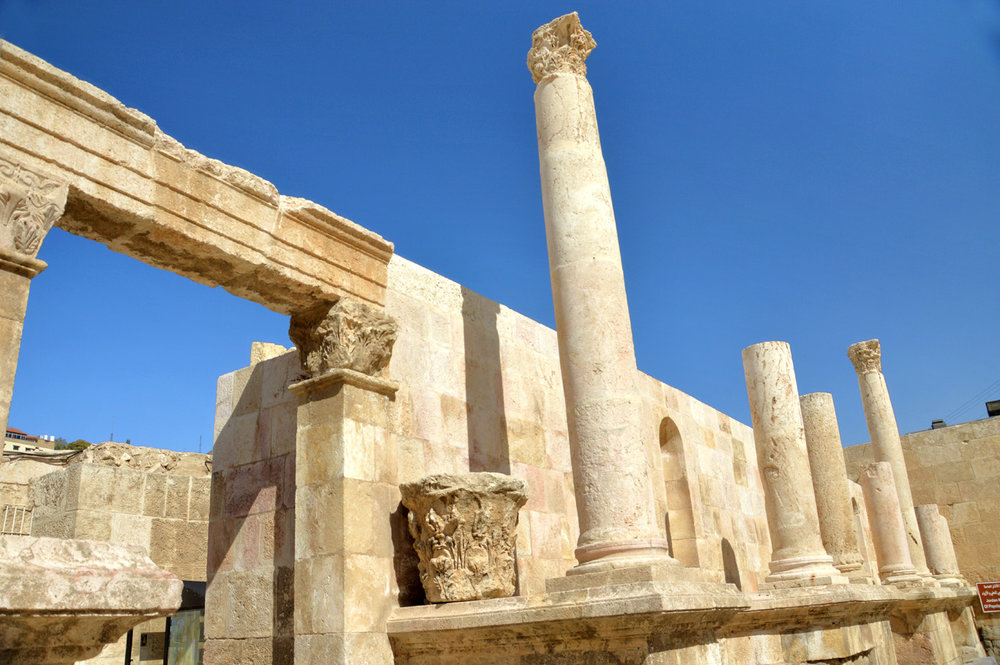 Roman ruins in Amman