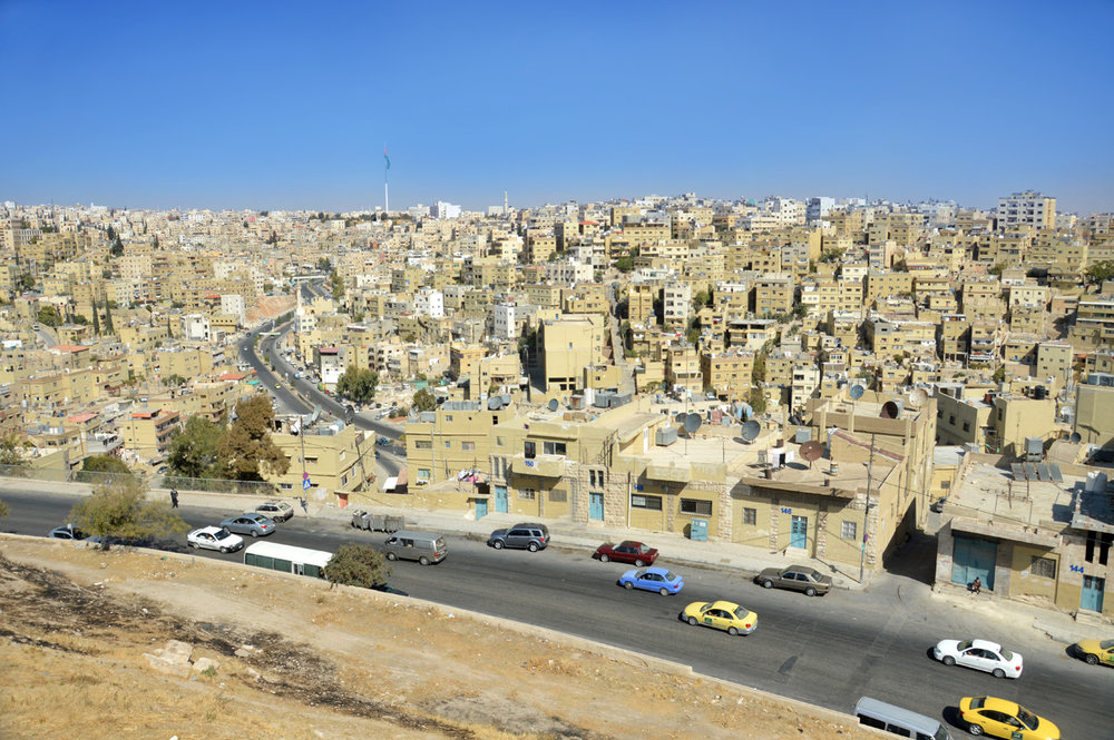 Amman - the view from the citadel