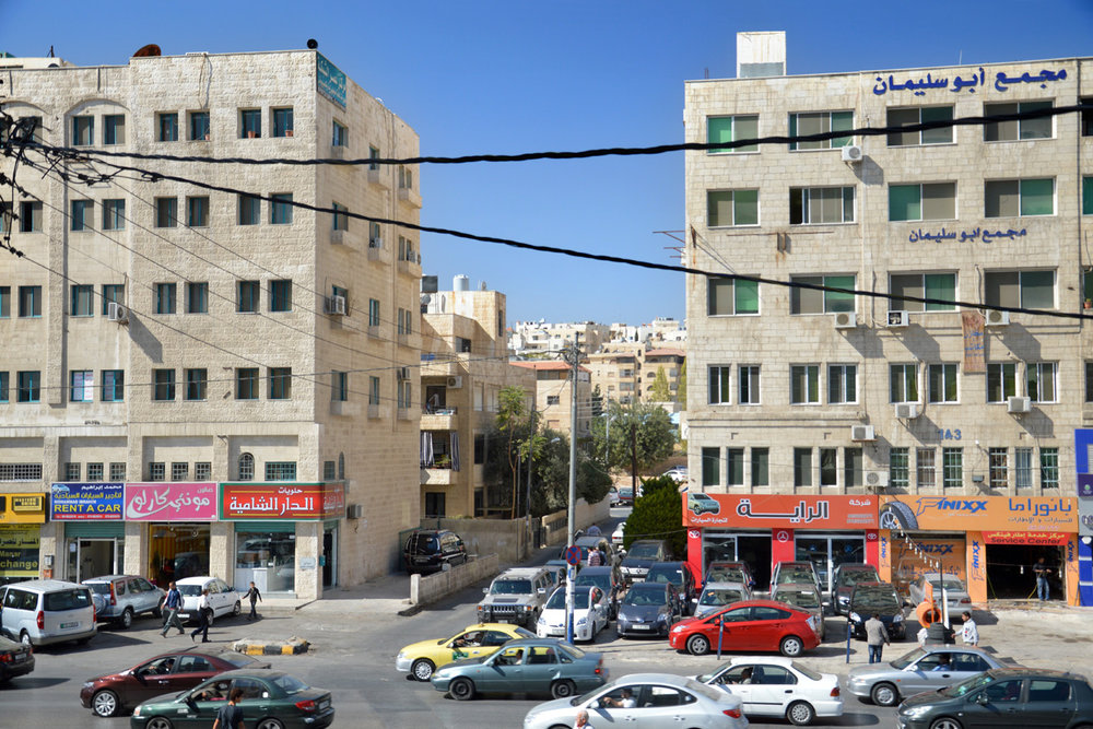 A street in modern day Amman
