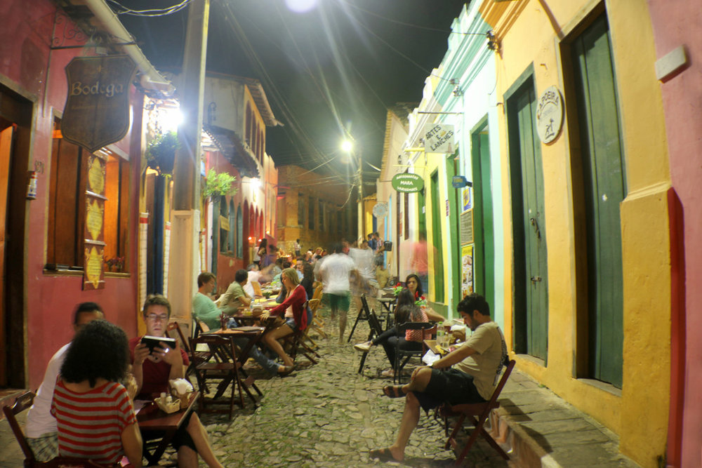 Lençóis at night