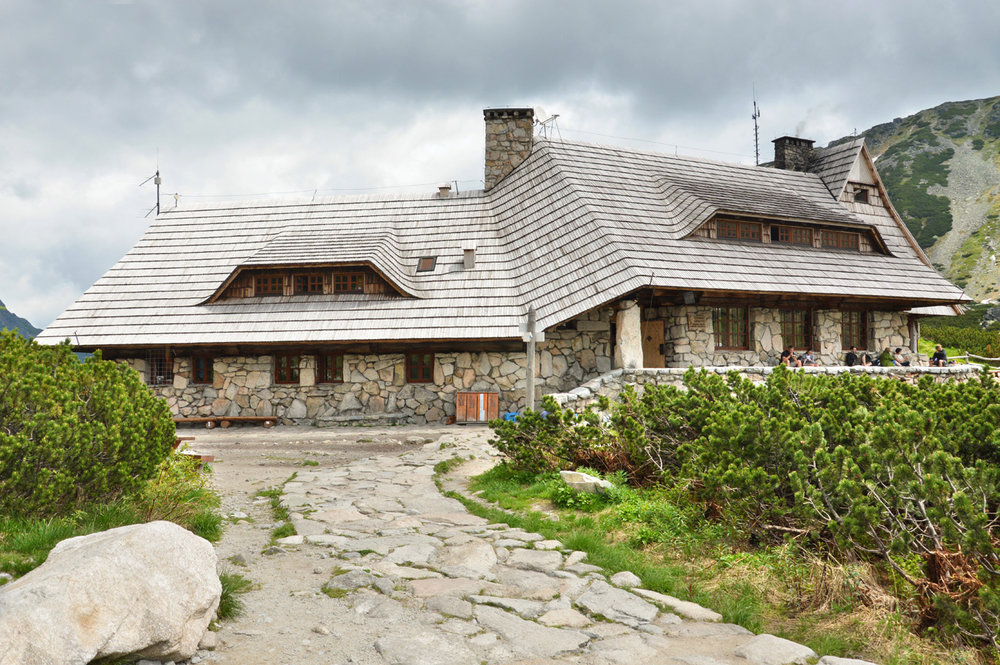 Mountain hostel in Dolina Pieciu Stawów