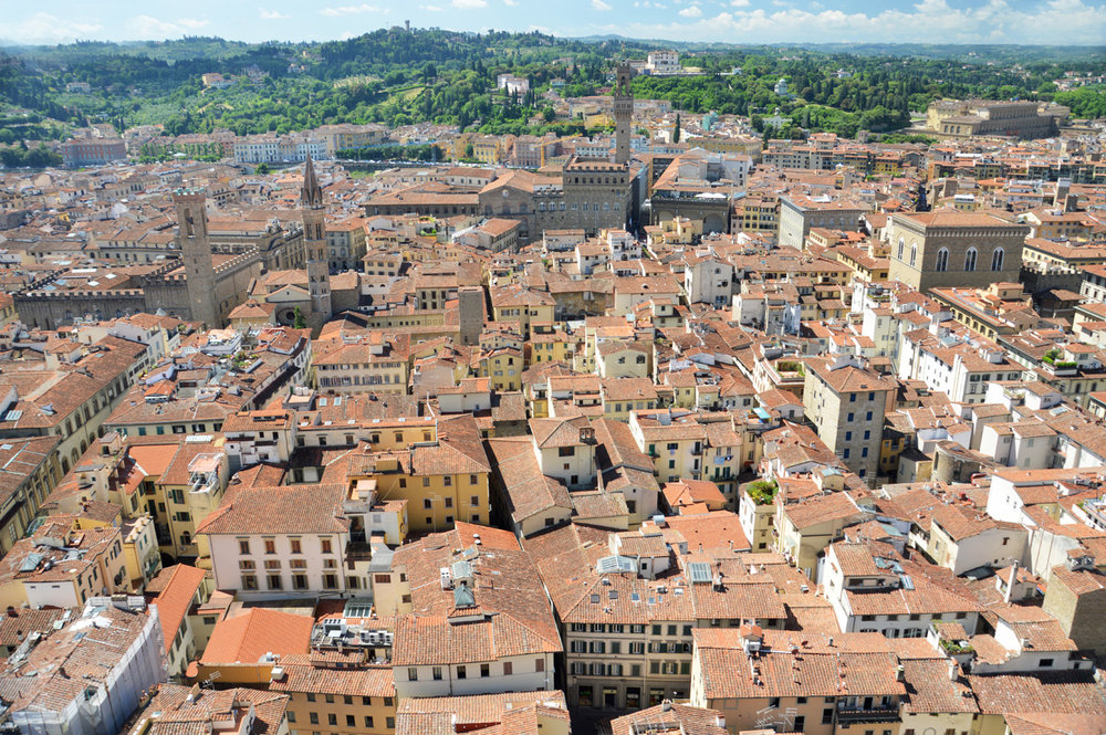 Florence - view from the Cathedral Dome