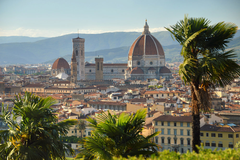 The cathedral - fiew from Piazzale Michelangelo
