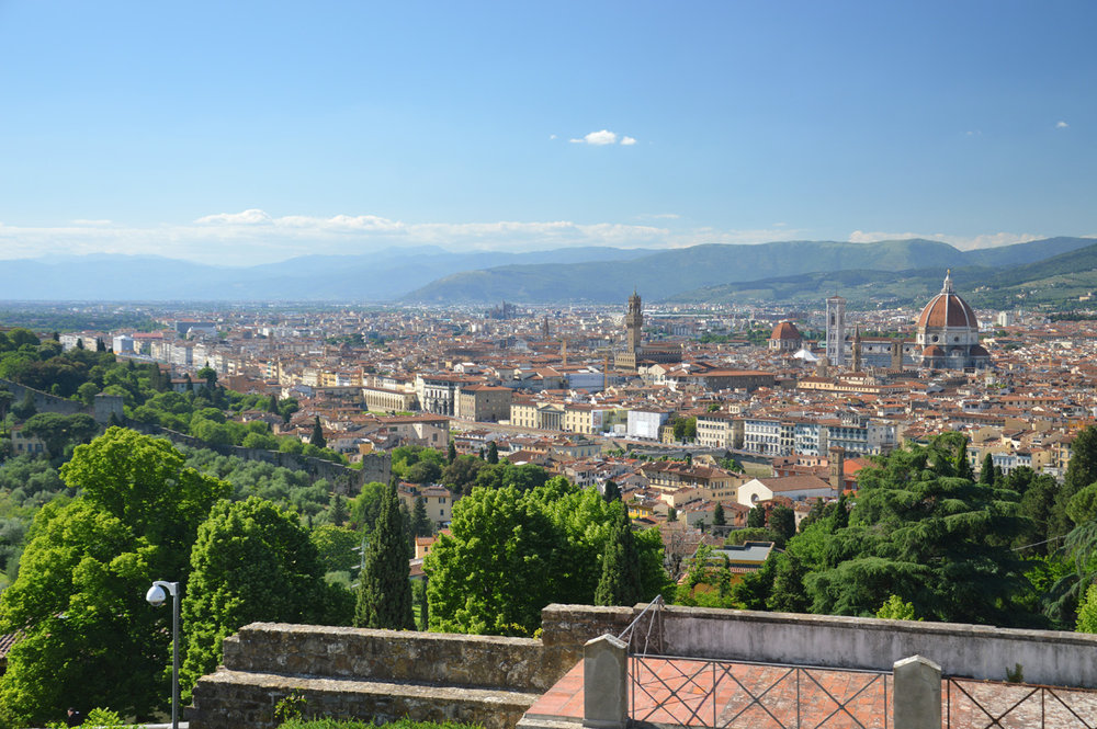 View from San Miniato al Monte