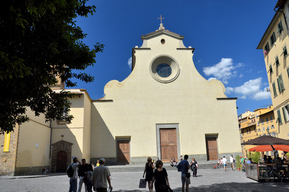 Piazza San Spirito - Basilica of The Holy Spirit