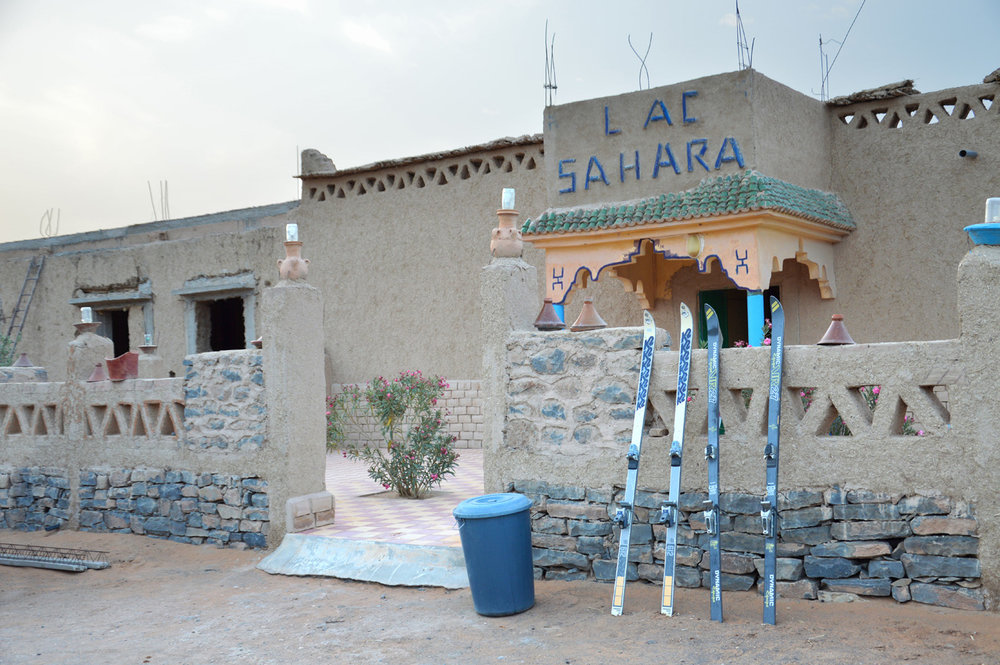 The Saharan guesthouse