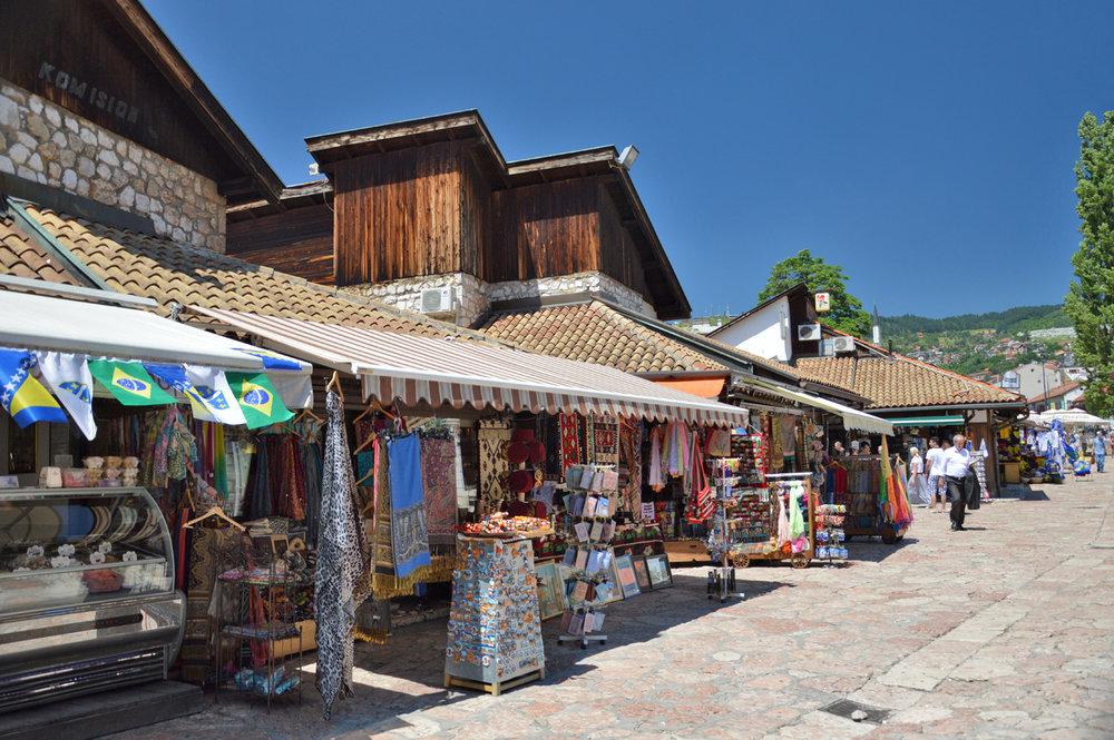 Bascarsija bazaar