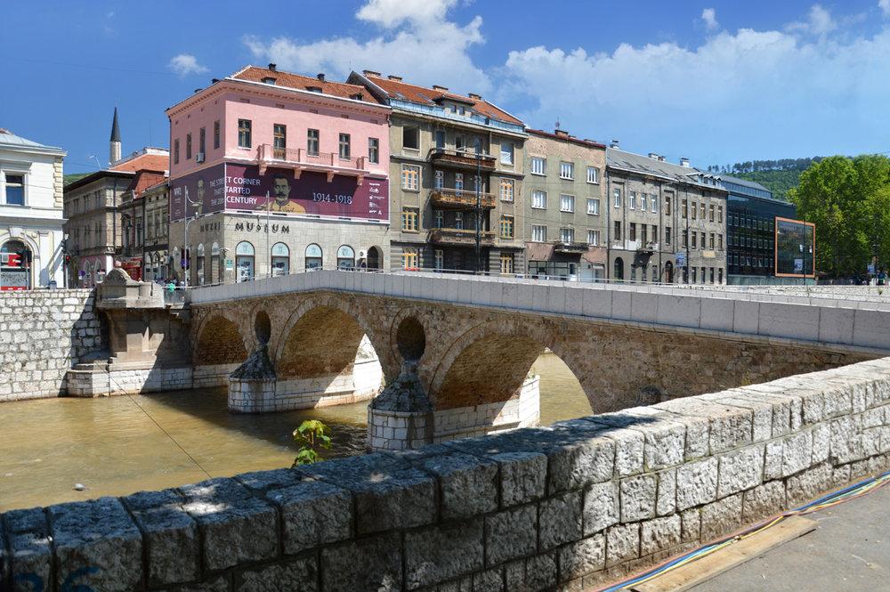 Latin Bridge where Franz Ferdinand was assassinated
