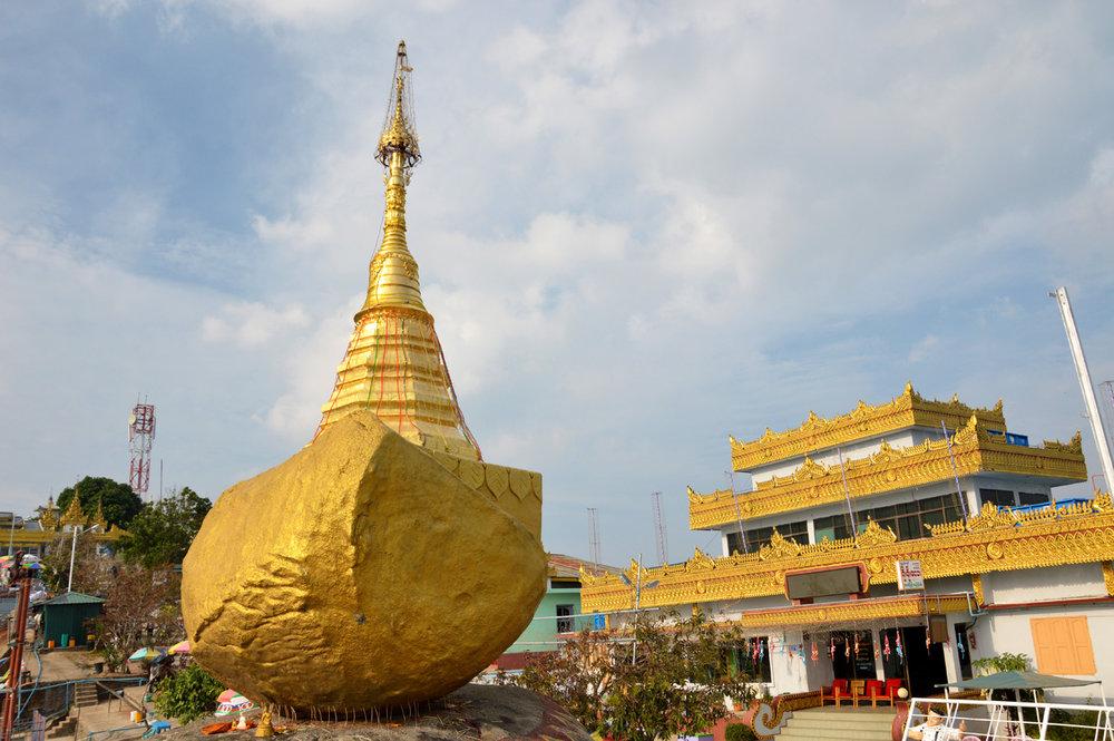 The Stone Boat Pagoda