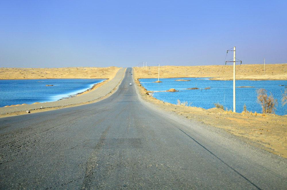 Karakum Desert Highway