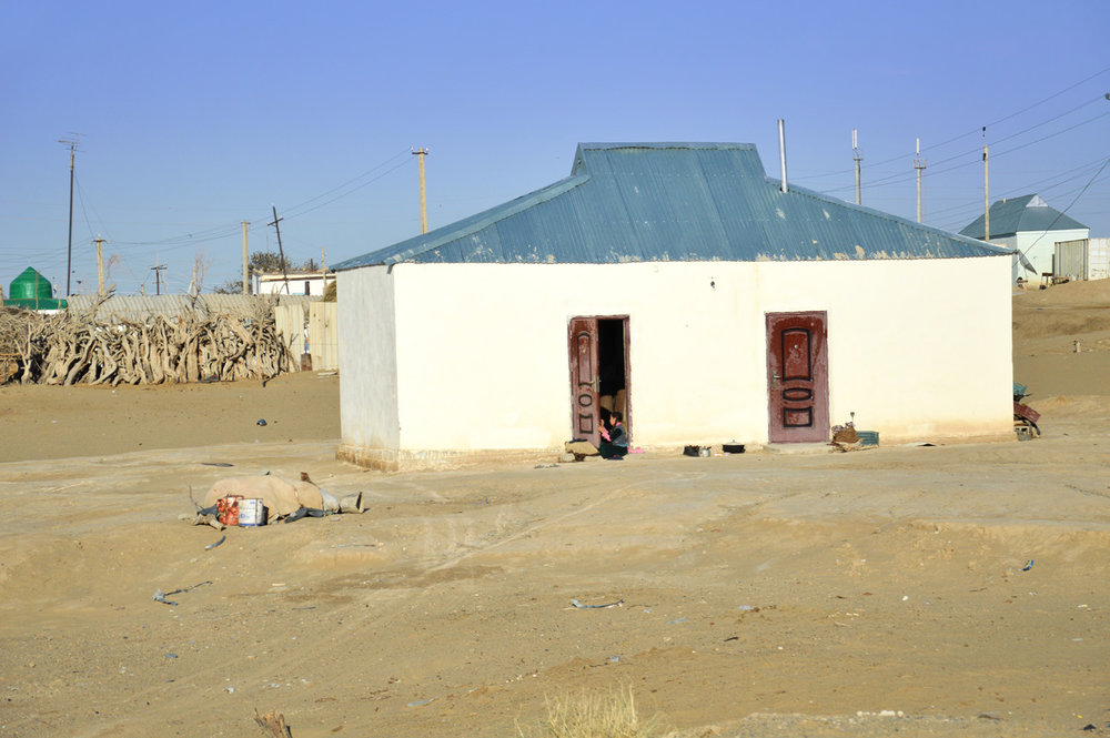 A house in Erbent village