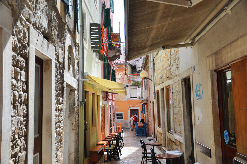 A little street in Zadar
