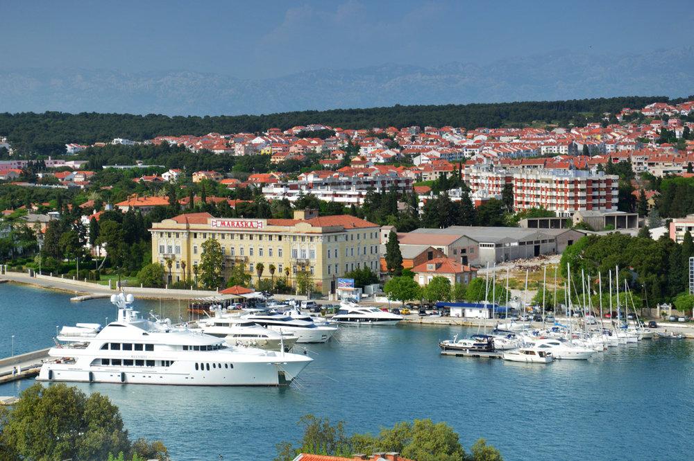 Modern Part of Zadar