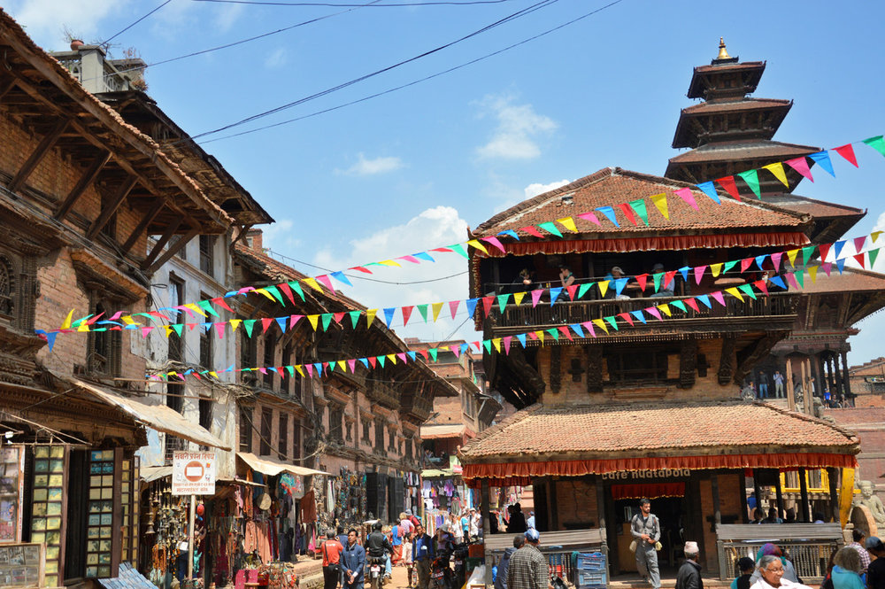 Streets in Bhaktapur