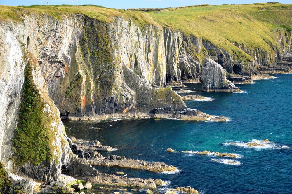 Cliffs at Old Head of Kinsale