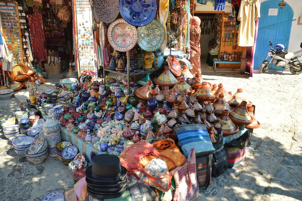 Chefchaoeun - souvenirs