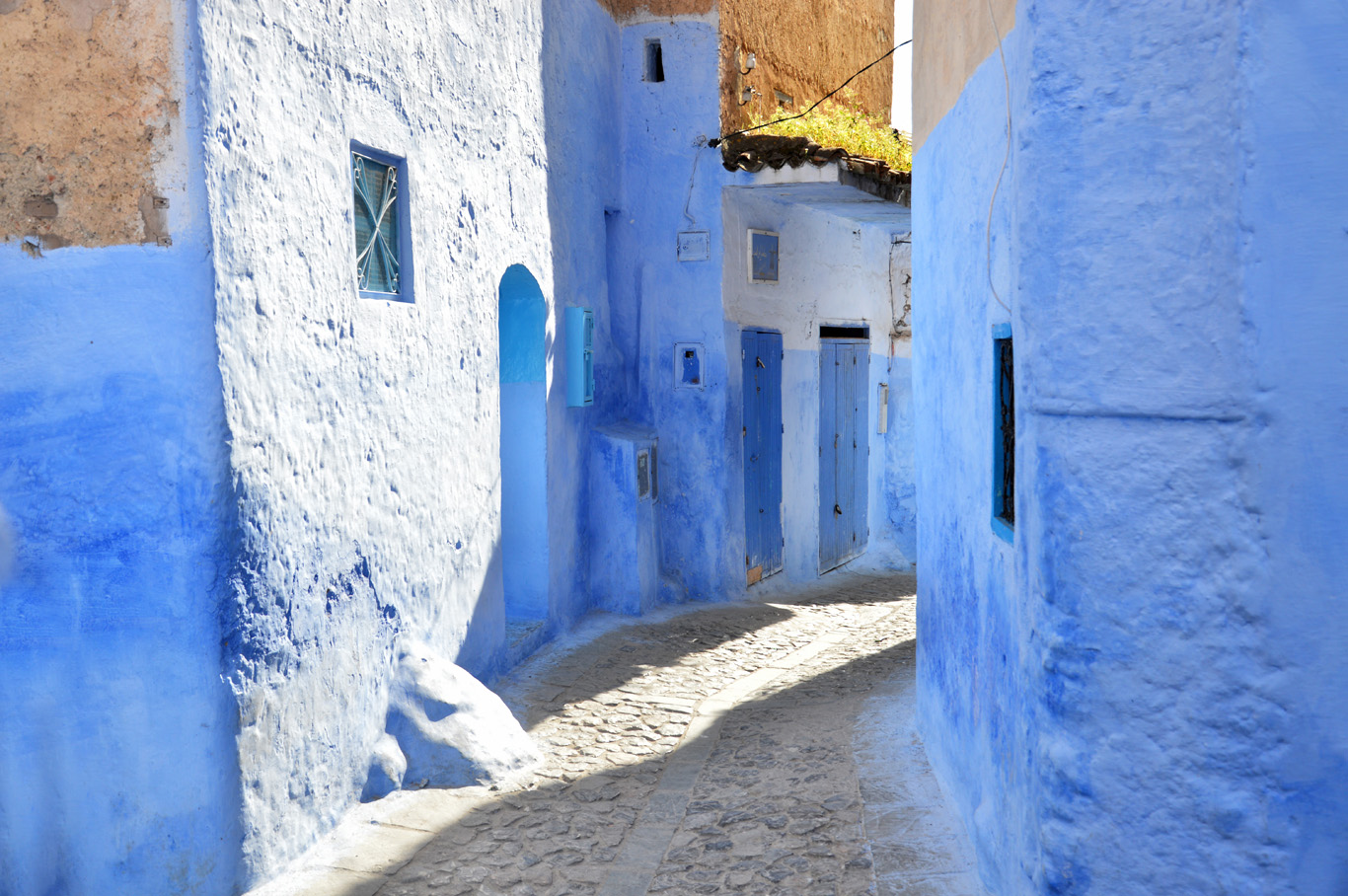 Chefchaoeun Original Blue Town In Morocco Adventurous Travels - Old town morocco entirely blue