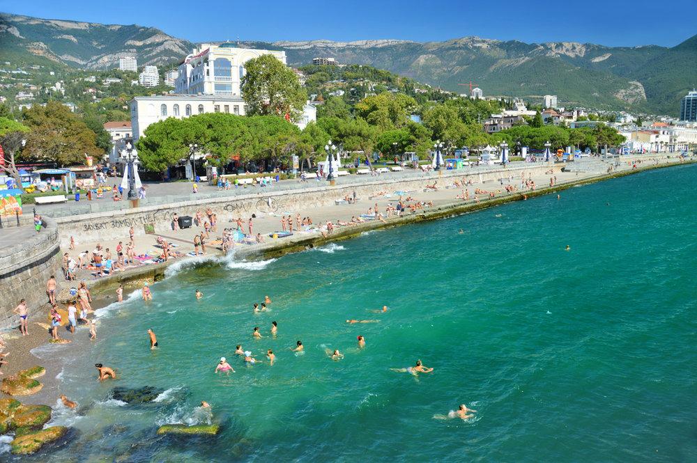 Beach in Yalta