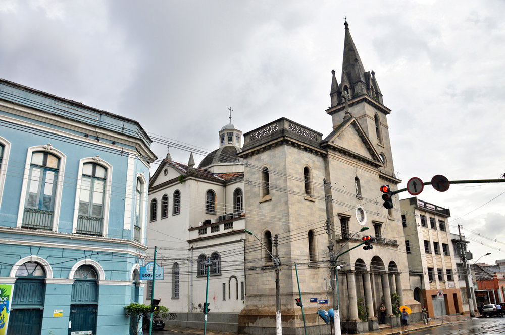 Church in the center of Manaus