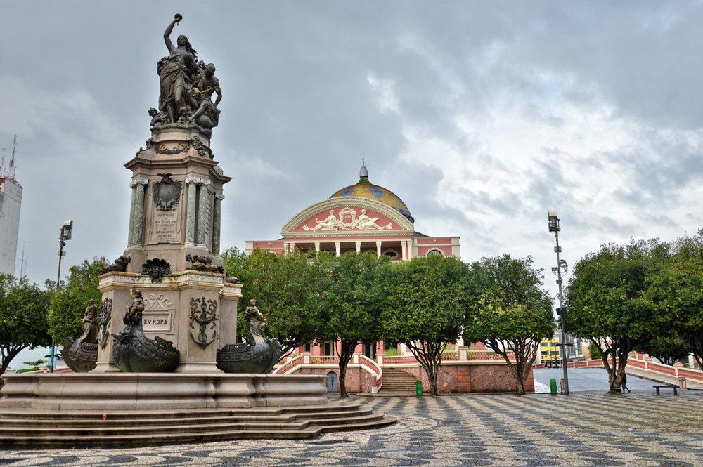 The Amazonas Theater Square