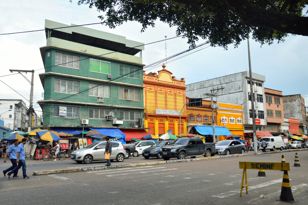 Manaus near the port