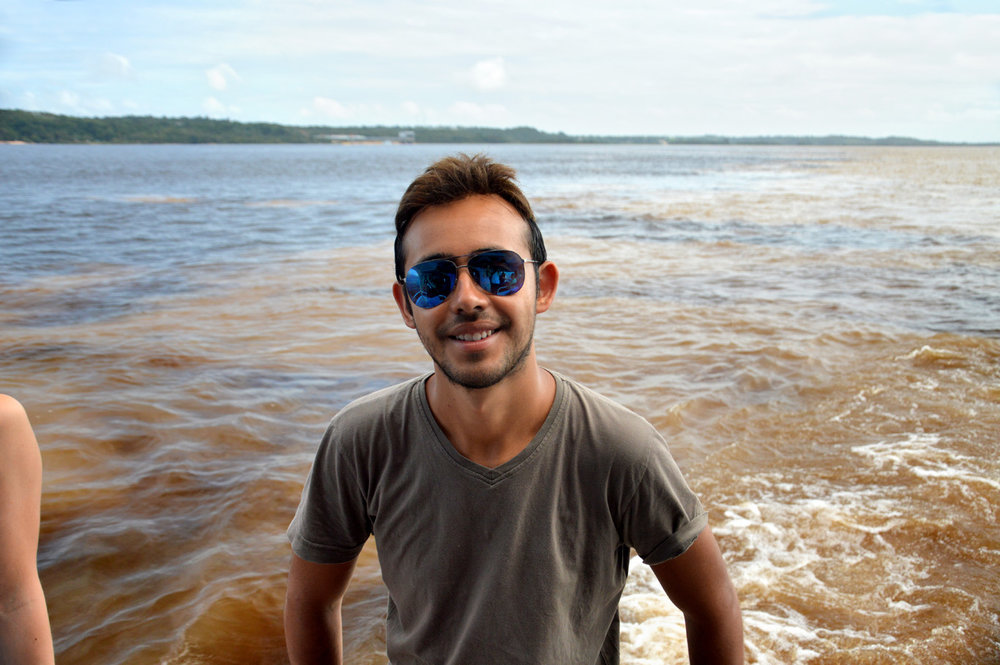 On the boat in Manaus