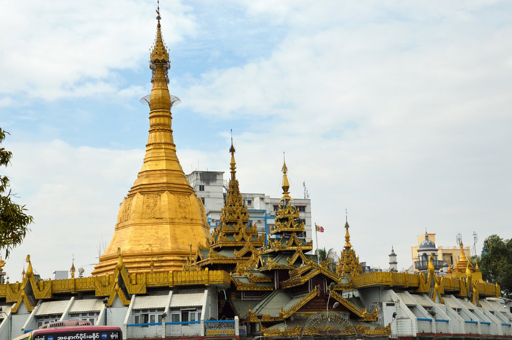 Sule Pagoda Roundabout