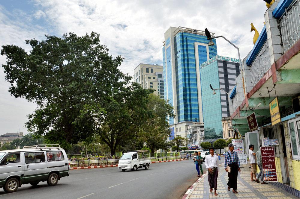 Modern Yangon